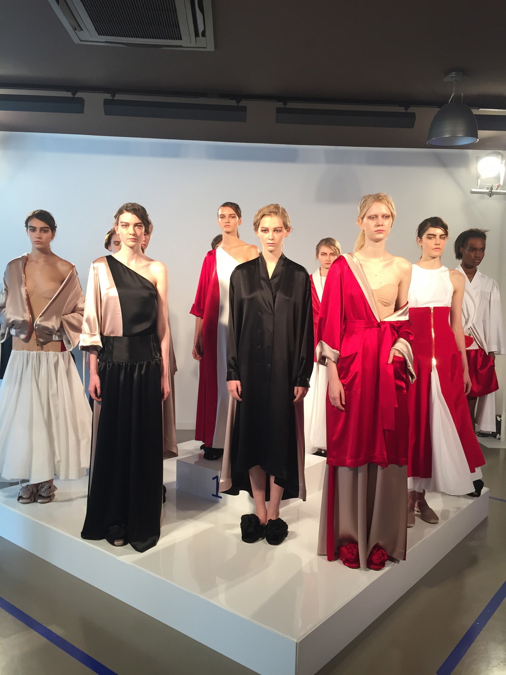We produced Natasha Zinko's Spring Summer 2016 show at London Fashion week , held at the Erarta gallery.