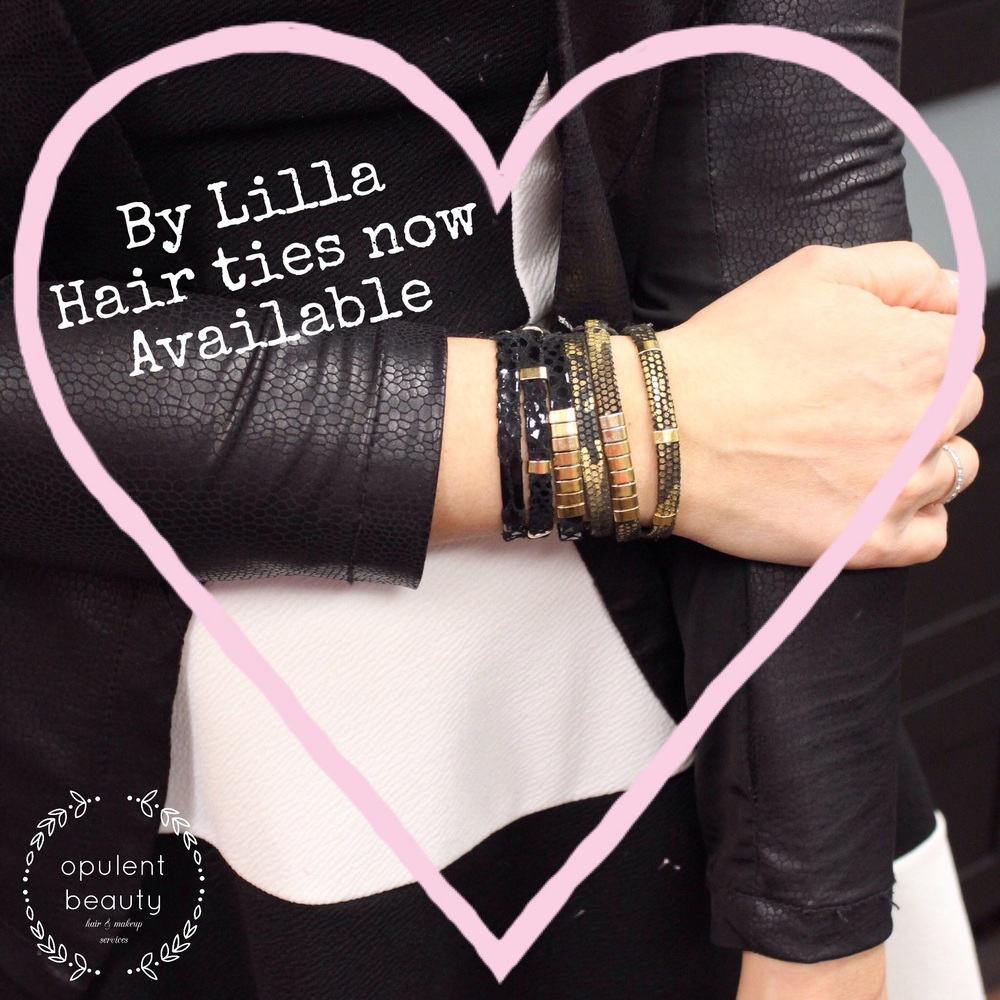 Hair ties by Lilla starts at $18