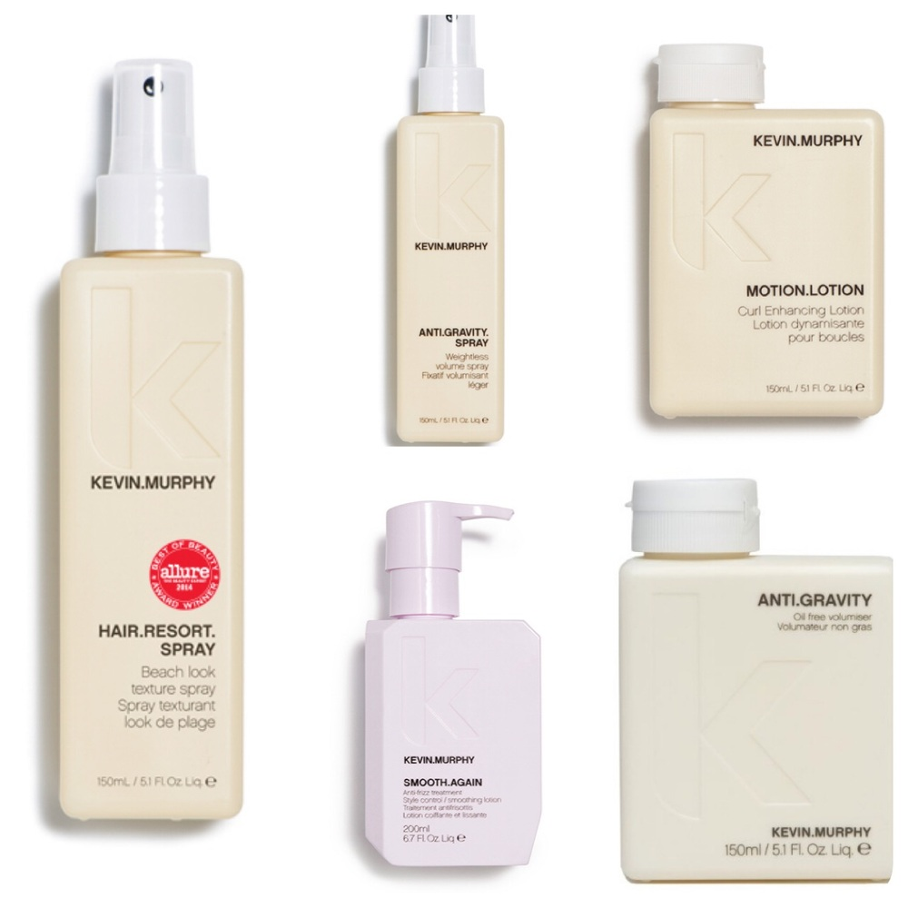 Bring in select Kevin Murphy products to get refilled at the salon and receive 10% off