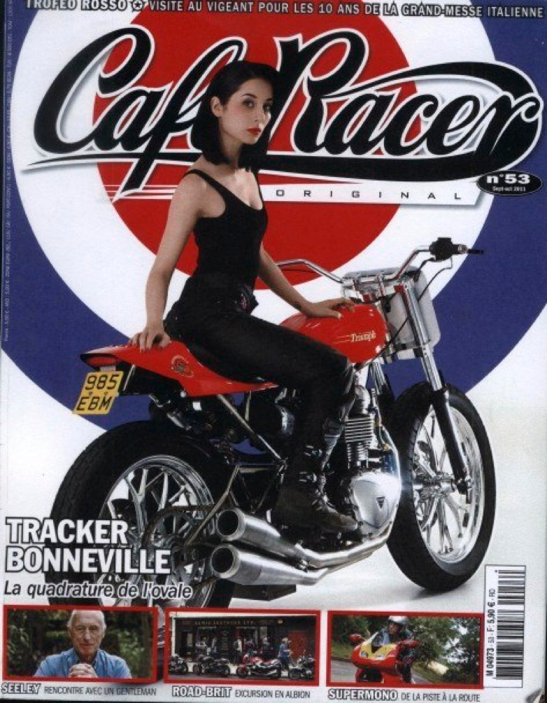 Cafe Racer Original - France: No. 53 September-October 2011