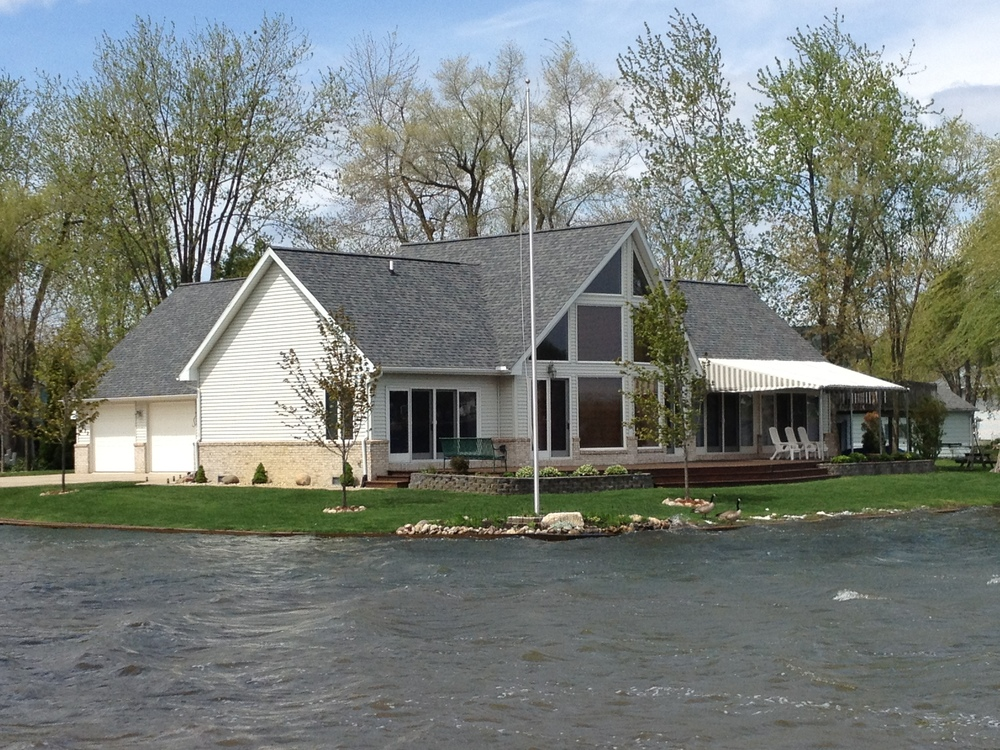 Custom built home in Devil's Lake, MI