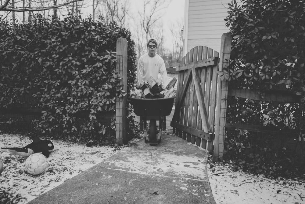 jack, friday, february 21, twenty fourteen  firewood.