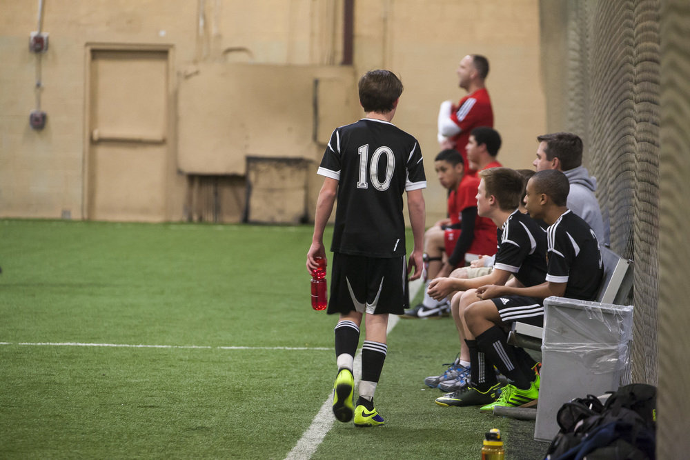 sam, wednesday, february 26, twenty fourteen  soccer year round.  #10