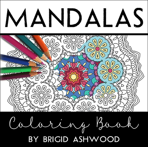 Mandalas Coloring Book — Brigid Ashwood