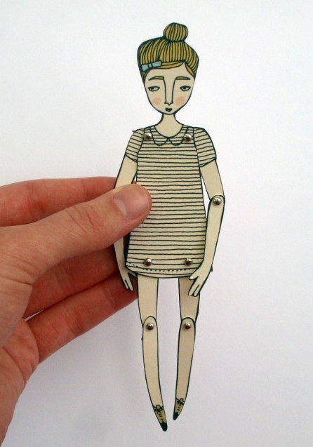 Paper Dolls by Jordan Grace Owens