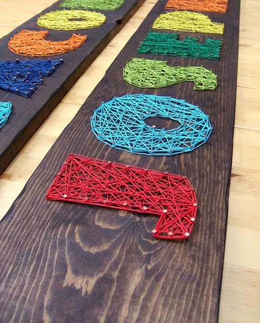 String Art by Jesse Dresbach