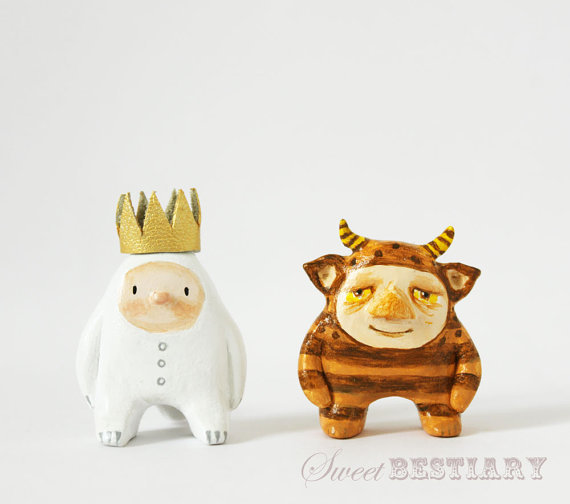 clay sculptures by Sweet Bestiary