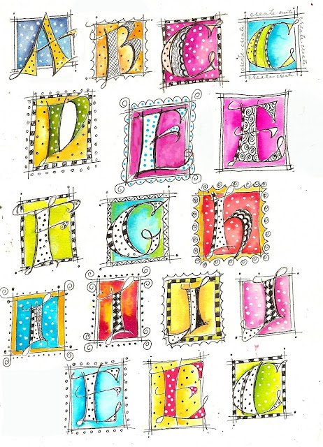 lettering by Martha Lever