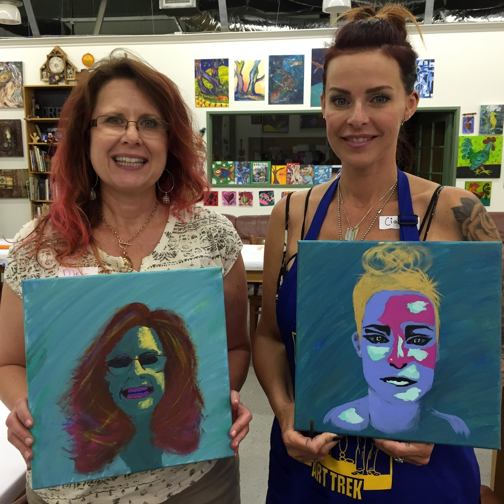 Abstract Portraits   August 27, 2015