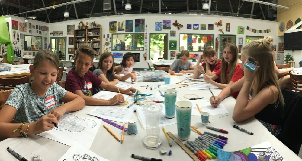 Summer Art Camp 2017