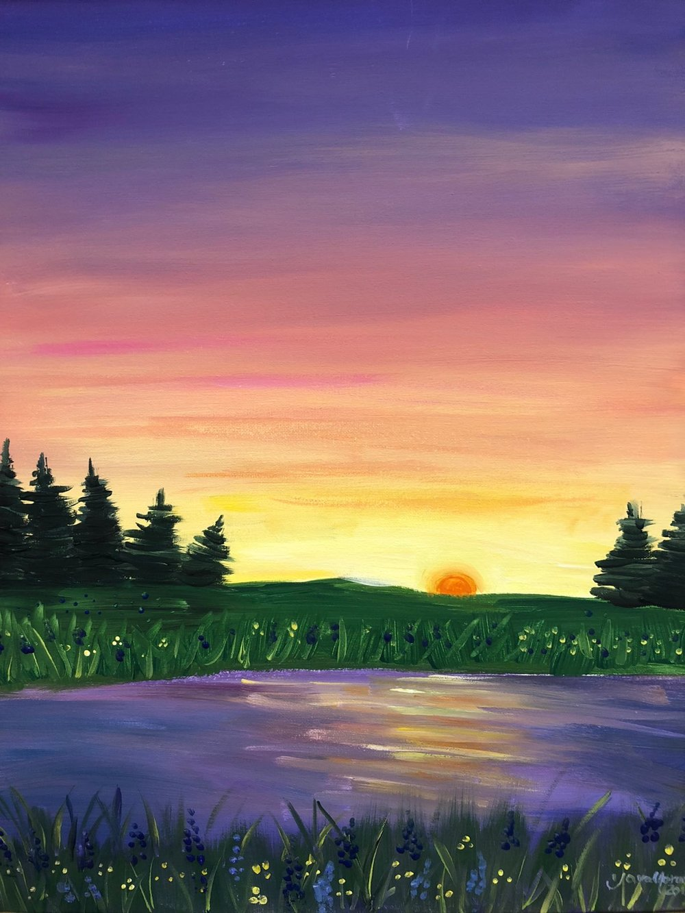 Paint Night for Teens - Wednesday, August 226-8:30p     $10 per teen *Ages 13-19