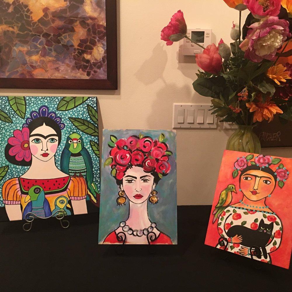 Frida Faces November 29, 2018