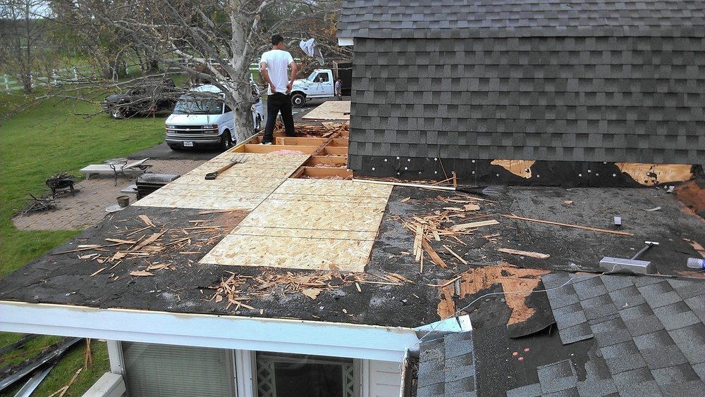 Tear out and decking replacement
