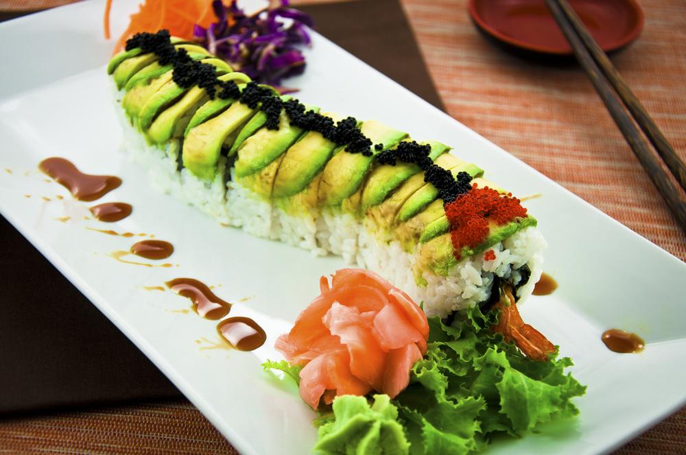 roll dragon sushi roll recipe dragon roll at cailins sushi dragon roll ...