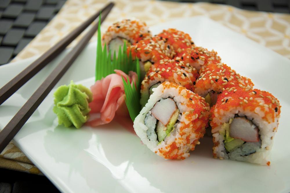 Japanese Entrees — Suvi Thai & Sushi