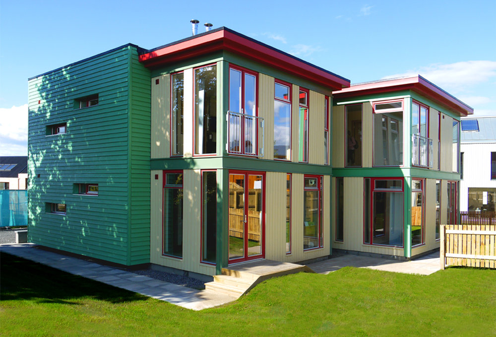 An Eco-House design for Scotland's Housing Expo from Douglas's previous practice at David Blaikie Architects