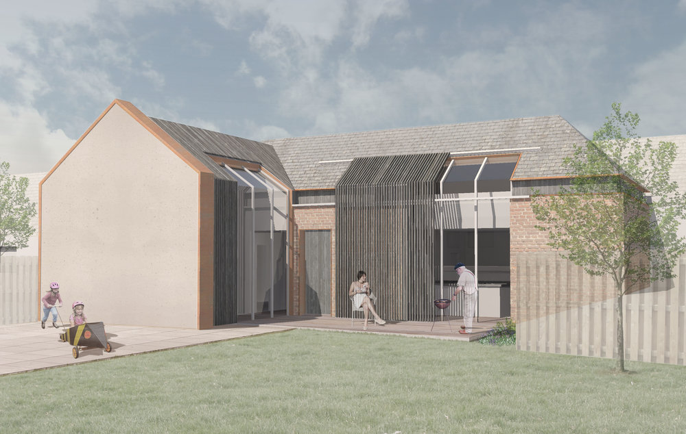 A regenerated agricultural building.