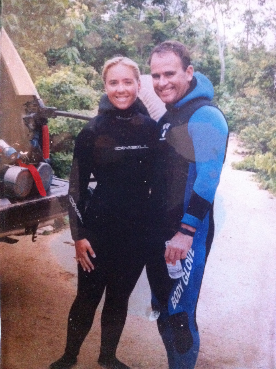 Cave diving in the Yucatan
