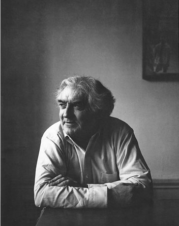 Cornell Capa in 1983, © Petr Tausk/International Center of Photography