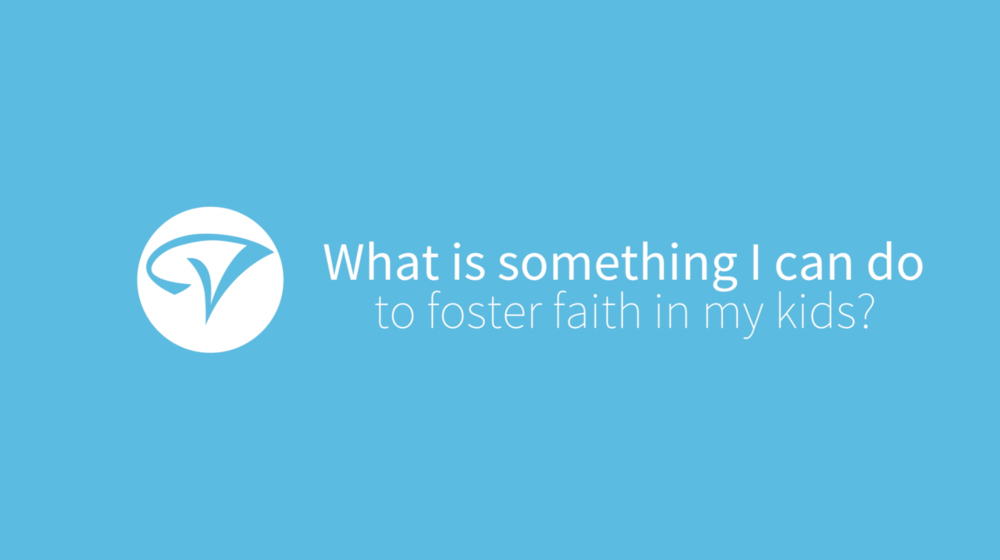 Fostering faith in my kids - Youth Pastor Gabe Quintana answers the question