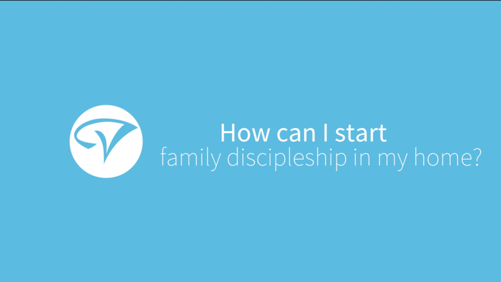 Starting family discipleship - Children's Pastor Jeri Menzies answers the question