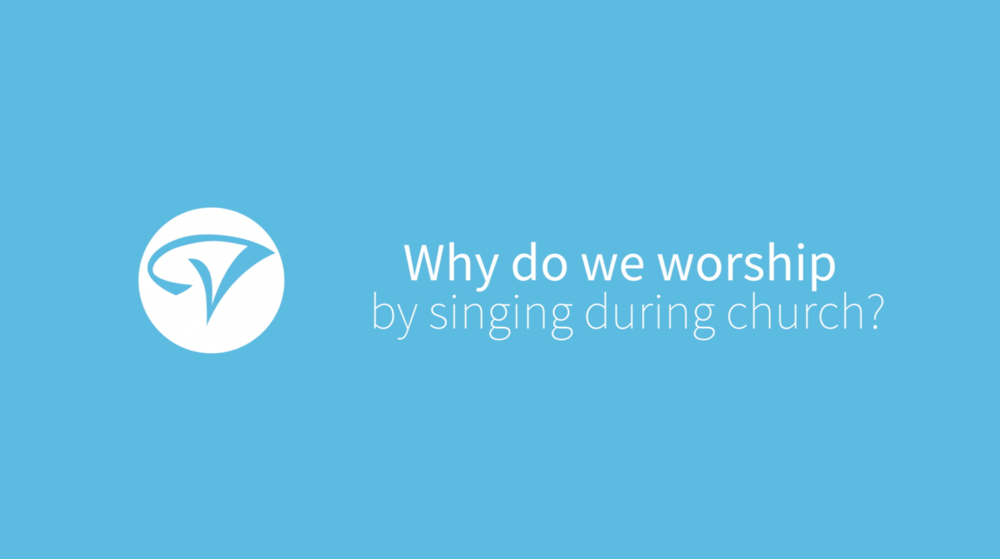 Why do we sing? - Worship pastor Tim Brown gives his take on the question