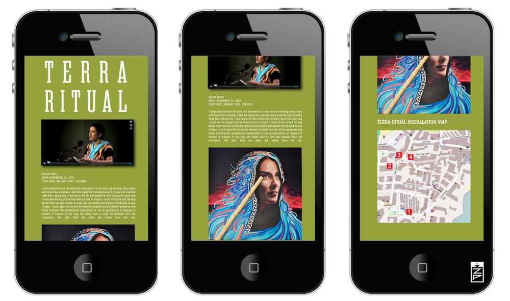 Terra Ritual - Interactive Public Gallery | 2012