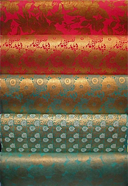 We are very excited about these new handmade Nepalese papers. Each silk screened in gorgeous patterns or designs.