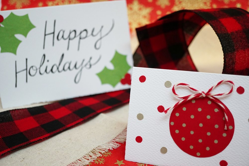 Get Inspired: Make Your Own Christmas Cards! — Paper-Ya On Granville ...