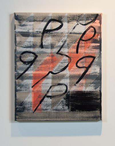 "Allyson Smith,Signs Big 2011,acrylic on canvas, 20 x 16"""