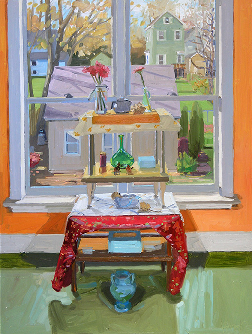 interior still life, afternoon