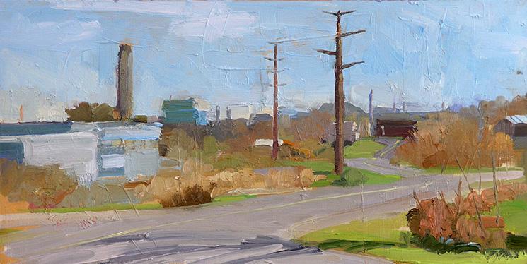 power plant, november