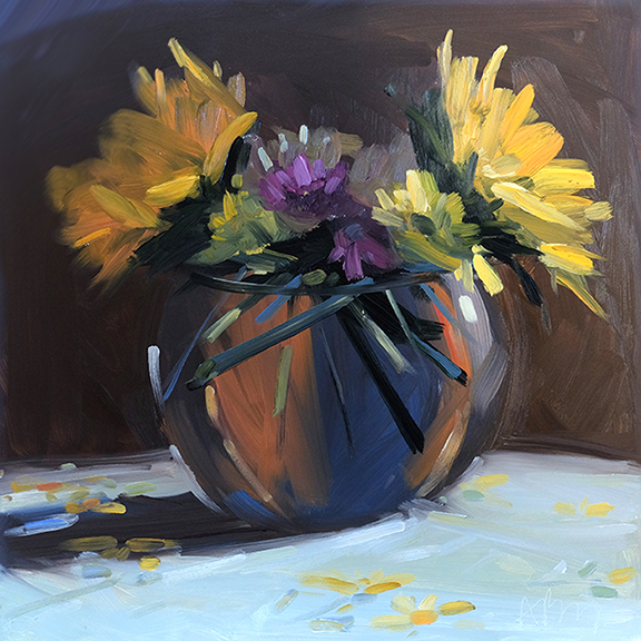 Sunflowers and Fall Bouquet