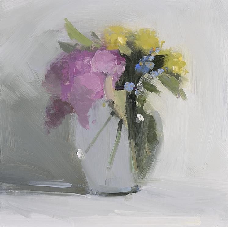 Lilacs, Forget Me Nots, Primrose