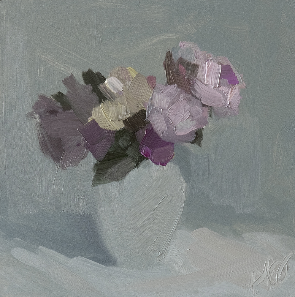 Grey Quiet Bouquet