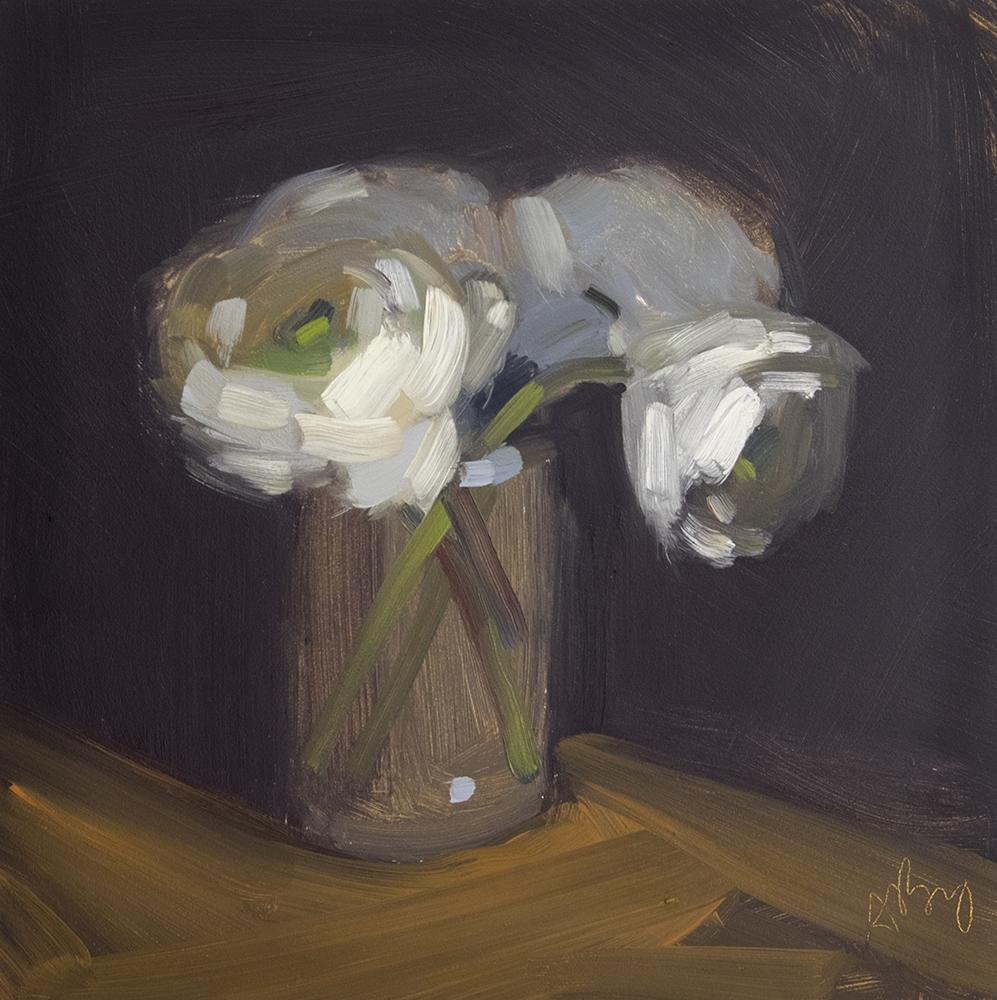 Four Ranunculus