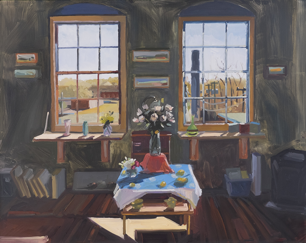 Studio Interior, April
