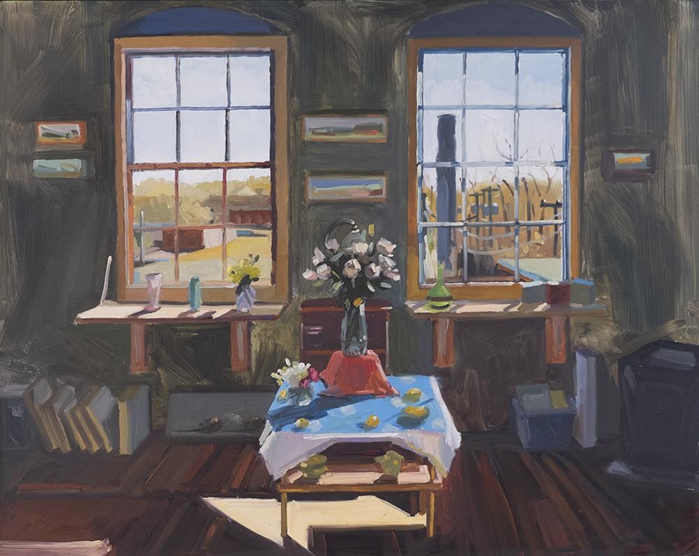Studio Interior, April
