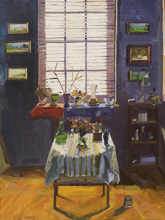 Studio Interior and Still Life