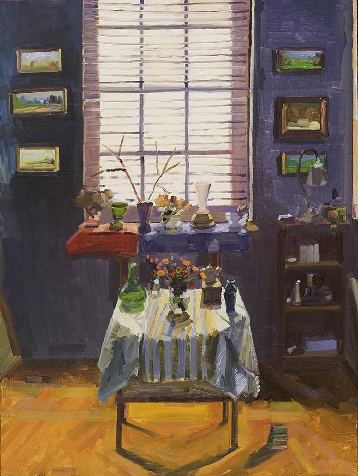 Studio Interior and Still Life