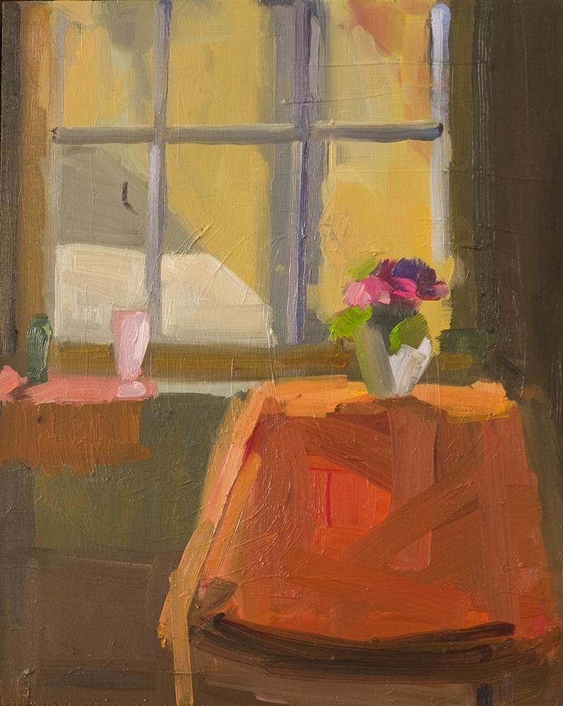 October Studio Window