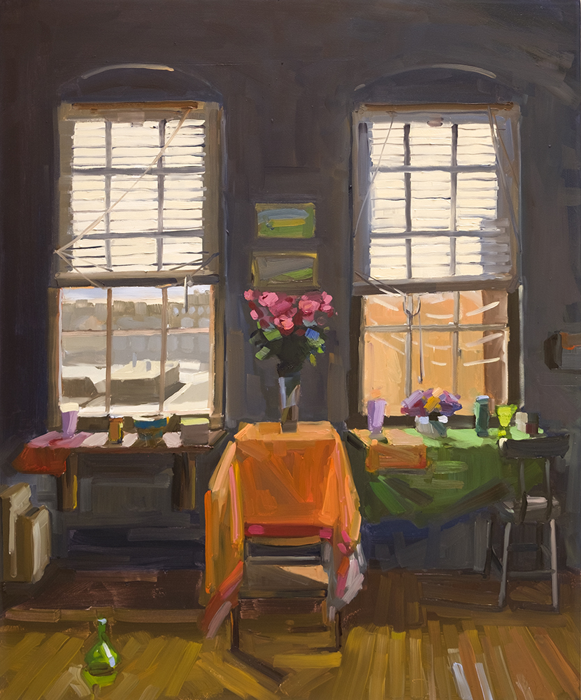 Winter Afternoon Studio