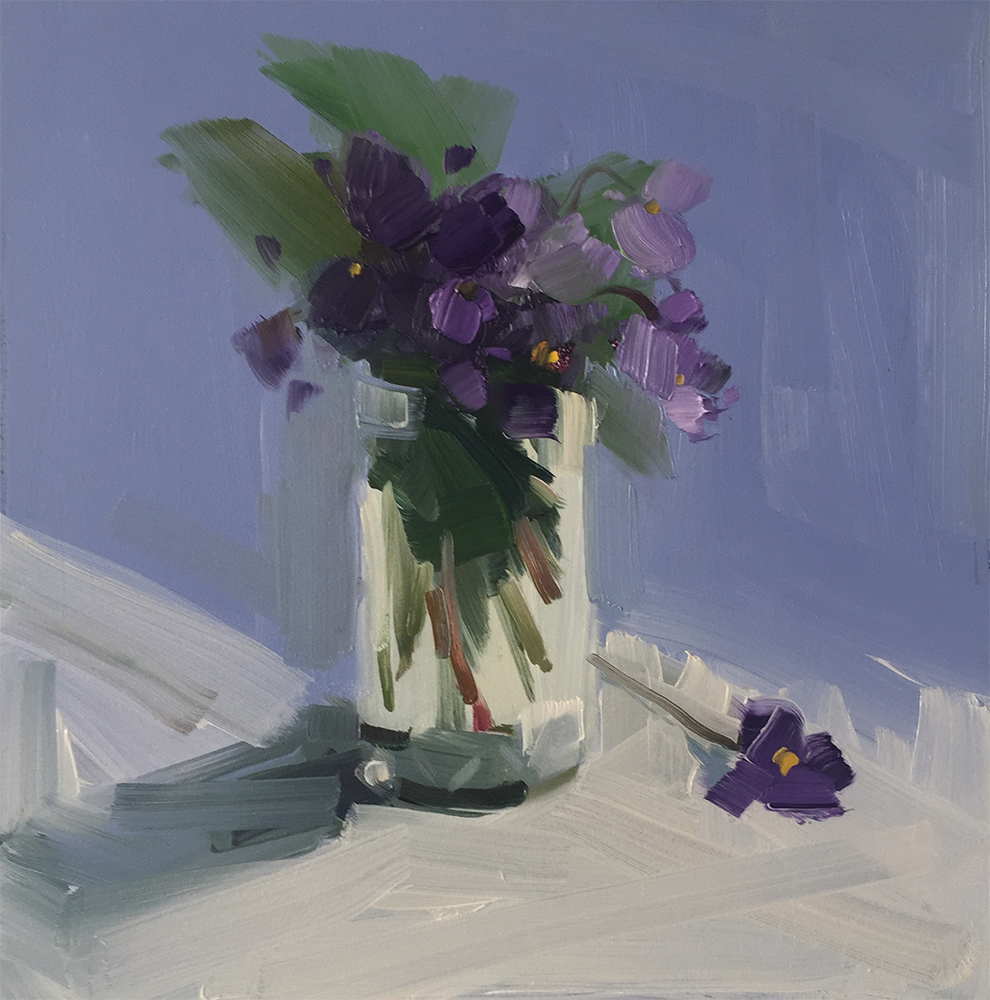 Violets and Periwinkle