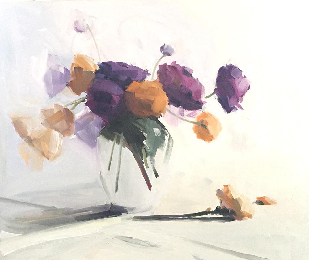 Wide Ranunculus Bouquet