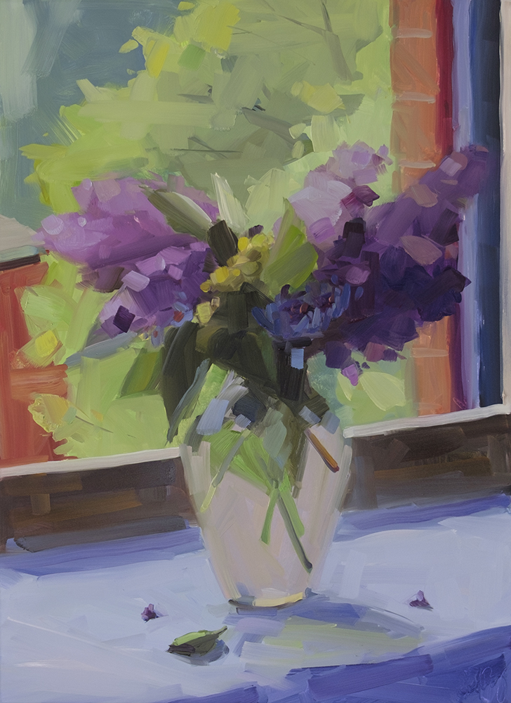 Lilacs and Window