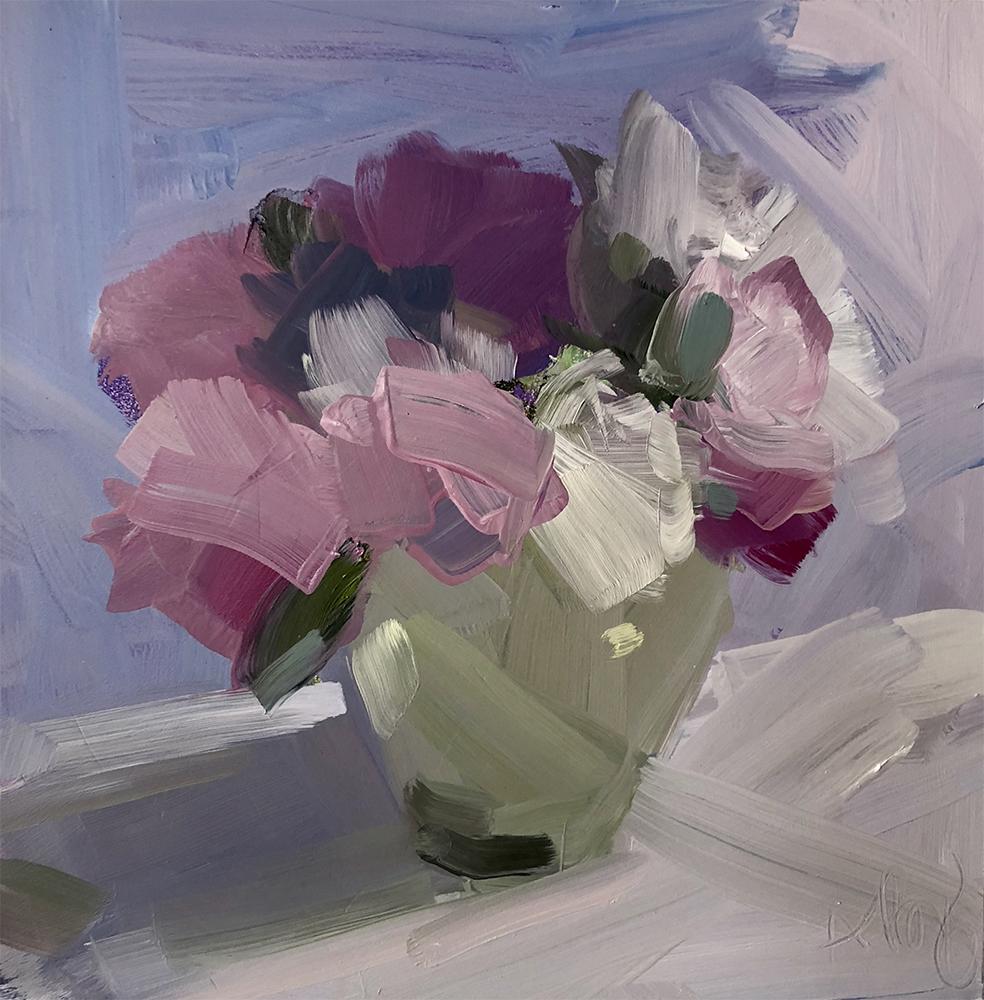 Tiny Bouquet of Peonies
