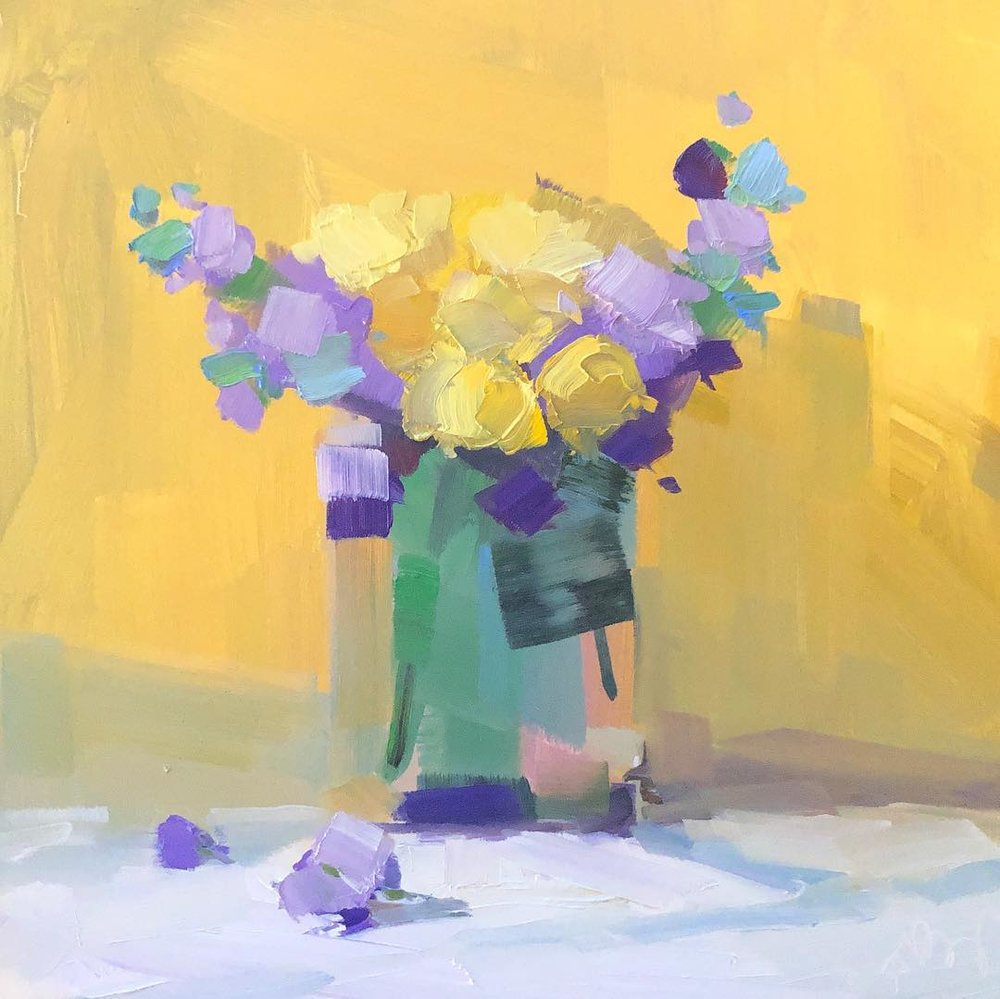 Yellow and Purple IV