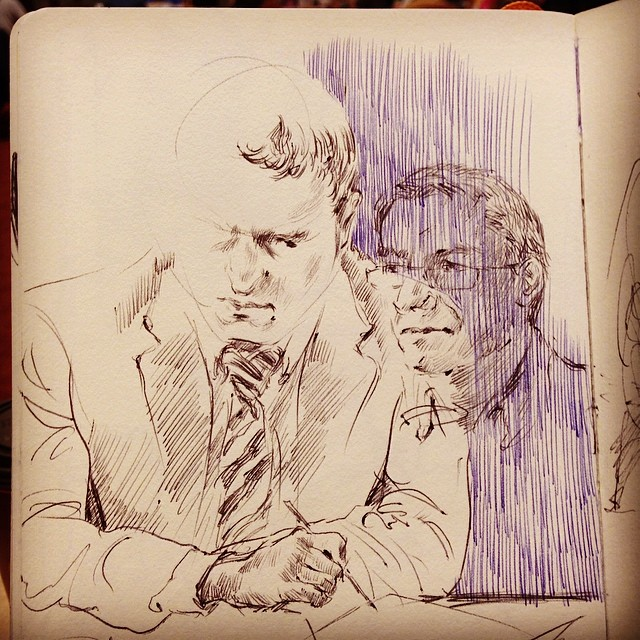 Library drawing #drawing #sketching #ballpointpen #lifedrawing #library
