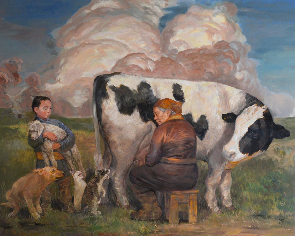 Mongolian daily life