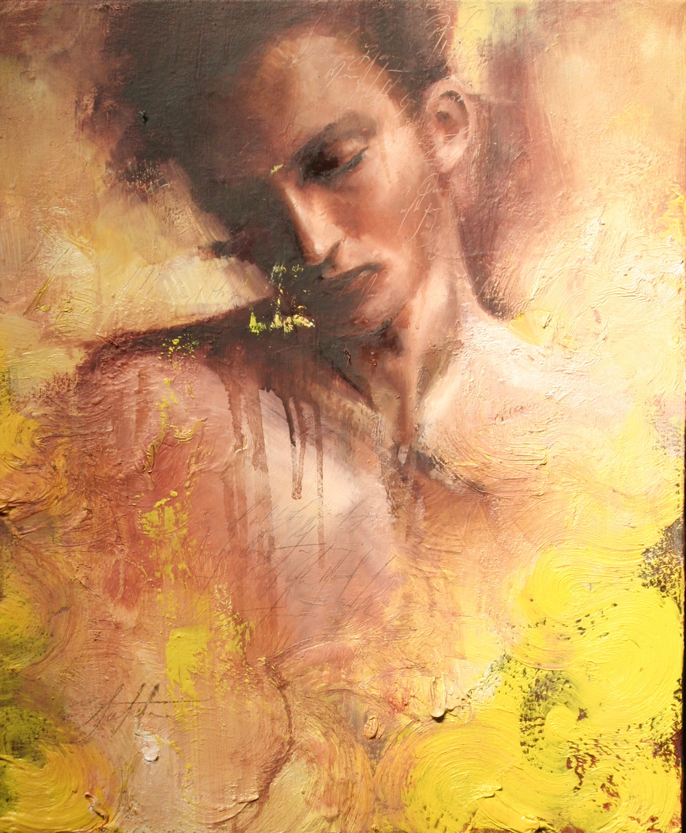 "Adonais oil on canvas 20""x24""  2009"